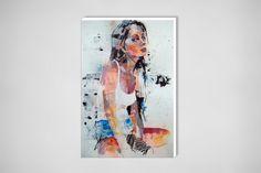 """Saatchi Online Artist: thomas donaldson; Ink 2013 Drawing """"10-25-13 sara"""""""
