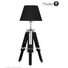 Nautical tripod table lamp