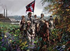 Civil War Marines It seemed that nothing could stop the audacious Major General Nathan Bedford Forrest and his cavalry command.