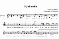 "Partitura de ""Siyahamba"": canção da África do Sul World Music, Music Is Life, Portal Do Professor, Easy Piano Sheet Music, Middle School Music, Music Wall, Piano Teaching, Teacher Tools, Elementary Music"