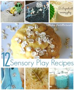 sensory play recipes and sensory ideas for kids tactile processing activities