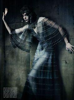 20's silver screen cleopatra / vogue italia