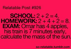 And this is why I always hated math.