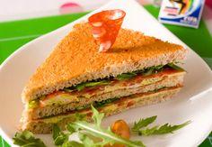 Club sandwich gourmandVoir la recette du Club sandwich gourmand >>