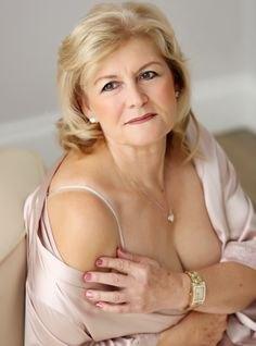 Older mature adult glamour models