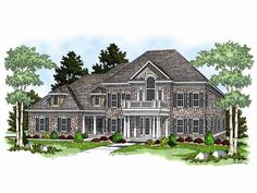 Luxury House Plan, 020H-0095