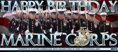 Happy Birthday to the US Marine Corps! Usmc, Marines, Hiring Veterans, Semper Fidelis, Us Marine Corps, Happy Birthday, Company Logo, Logos, Happy Aniversary
