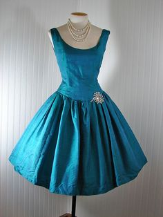 Vintage 50s 60s Dress Cocktail Party