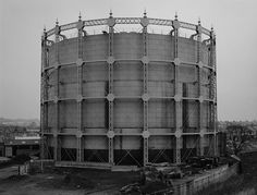 Gas Holder, London, Finchley, 1966 by Bernd and Hilla Becher