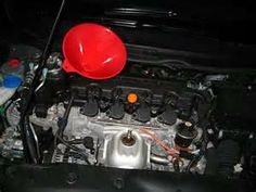 Honda Civic 1 8l I4 Engine Motor Oil Change