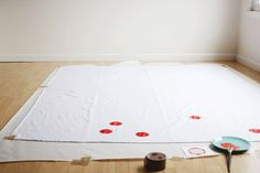 O Mundo de Calíope: Toalha de Mesa Divertida - DIY {#sextacriativa}