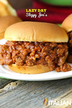 Lazy Day Sloppy Joe's are miles away from ordinary with a special ingredient added to really kick this simple recipe up a notch. This hearty meal is ready in just 15 minutes these can be on your table any night of the week!