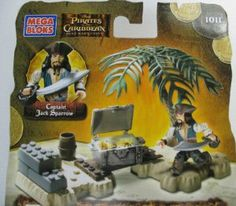 Mega Bloks: Pirates of the Caribbean 2 - Captain Jack Sparrow by Mega Brands America Inc.. $20.66. 30 pieces. Pirates of the Caribbean Mega bloks 1011. ages 6+. A great addition to your Pirates of the Caribbean collection.