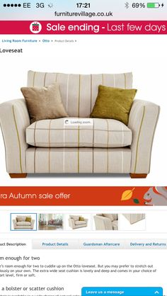 Furniture Village - Otto loveseat £799