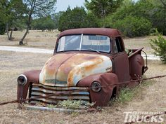 1957 chevy cameo pickup truck custom front bumper ... now, here's a truck to really RESTORE.