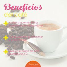 ¡Nuestra taza diaria de café tiene beneficios que  no conocías!
