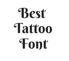 Different Lettering Styles For Tattoos