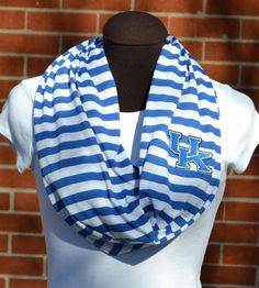 UK Kentucky Game Day Infinity Scarf Knit Jersey by byrdlegs, $25.00....I HAVE TO HAVE THIS!!!