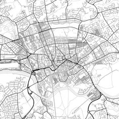 Downtown vector map of Preston. Very detailed version for infographic and marketing projects. This map of Preston, England, contains typical landmarks... ... #download #map #infographic  #marketing #travel #city #germany #german# #beautiful #map #communication #design #background #hebstreit