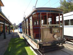 Old Sydney Tram at the Tram Museum Loftus