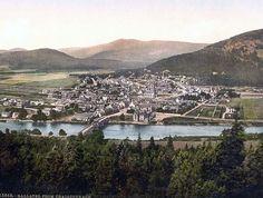 From Craigcoynach, Ballater, Scotland, post card c1890s