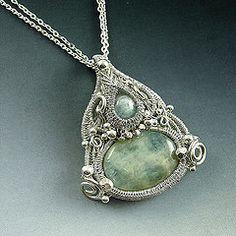 Persephone Goddess Necklace by Samantha_Braund, via Flickr