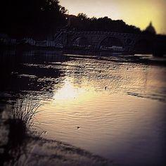 "@ilaria_agostini's photo: ""Tevere river, Rome"""