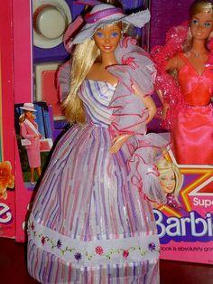 #Barbie Springtime Magic del 1983.
