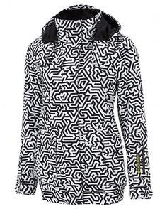 The ultimate ski jacket for style and functionality, this highly technical outer layer is windproof and waterproof with a thermal fleece lining and removable snowskirt from Sweaty Betty.