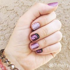 Look out Australia and New Zealand!! Are you ready for the Jamberry invasion and ready to have nails that look THIS awesome?!! I love this combo!! Anything with Butterfly Kisses is a winner for me...lol Check out these and more at www.thenailrevolution.ca #jamberryaustralia #jamberrynewzealand #cantwait