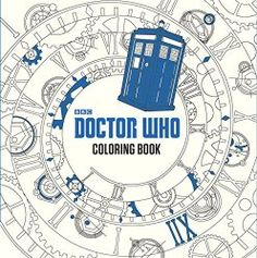 Doctor Who Coloring Book __ bohemianizm Holiday Gift Guide 2015: 75 Awesome Art-Related Present Ideas | bohemianizm