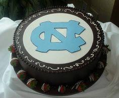 unc grooms cake