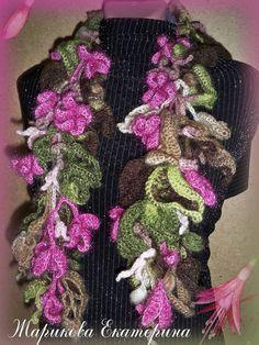 Шапочки, шарфы, накидки, шали 000_0140