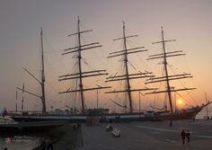 "Gabriele Manhold Photography: Viermastbark "" Sedov"", an der Seebäderkaje Bremerhaven Sailing Ship,"" Sedov"""