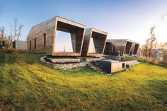 Above the Arctic Circle, overlooking a fjord on one side and shielded by forest on the other, sits one of Snorre Stinessen's most impressive and eco-conscious projects to ...
