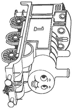 Thomas The Train Coloring  High Quality Printables That Will Make All