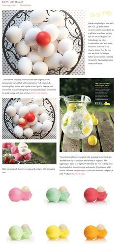 Do you EOS? See our review on Style Sweets Magazine.