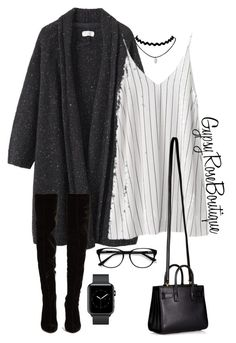 """#466"" by gypsyroseboutique on Polyvore featuring Toast, Christian Louboutin, Yves Saint Laurent and EyeBuyDirect.com"