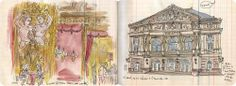 Les dessins de lapin à Baden-Baden. Casino et Théâtre. The drawings of Lapin in Baden-Baden. Casino and Theater. #Cafeofeurope #sourcesofculture #sourcesofeurope #BadenBaden #Lapinbarcelona  #Berlioz http://www.lesillustrationsdelapin.com/#about/