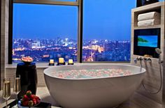 room with a view. That would probably be a favorite space in your home!!