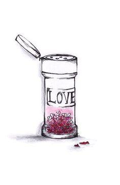Sprinkle generously