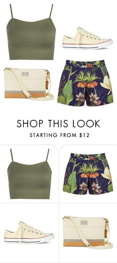 """Green-ish"" by martina-stevkovska ❤ liked on Polyvore featuring WearAll, Penfield, Converse and Tig II by Tignanello"