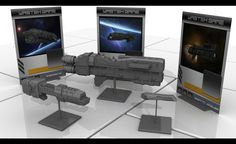 Miniature spaceship game