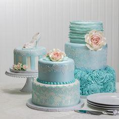 Vintage Romance Wedding Cakes