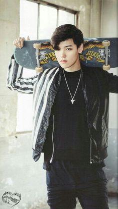 Zelo (B.A.P) #HimChan #YoungGuk #DaeHyun #YoungJae #Zelo #JongUp