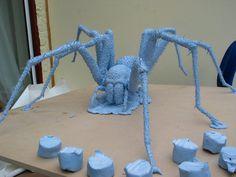 Blu Tack Sculpture