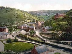 General view, Boscastle, Cornwall, England