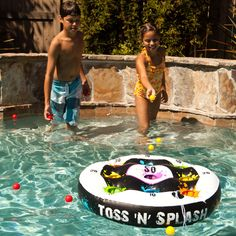 A Great Outdoor Game for The Beach, The Backyard or The Swimming Pool!