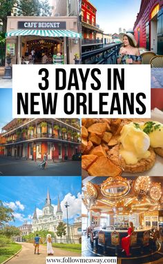 Die ultimativen 3 Tage in New Orleans Reiseroute die Sie stehlen sollten New Orleans Travel Guide, New Orleans Vacation, Visit New Orleans, Trip To New Orleans, Usa Travel Guide, Travel Usa, Travel Guides, Travel Tips, Tips And Tricks