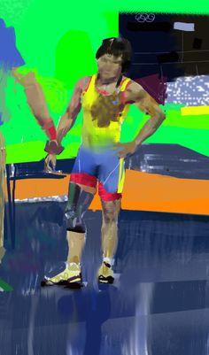 Frederic William Stewart:  Zhuldyz Eshimova-Turtbayeva, Kazakh, 4th Place, Wrestling, Rio Olympics